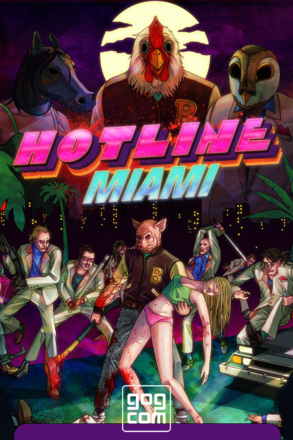 Hotline Miami [GOG] (2012) PC | Лицензия